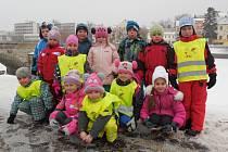 K dalším aktivitám 11. MŠ Písek patří i bruslení na zimním stadionu.