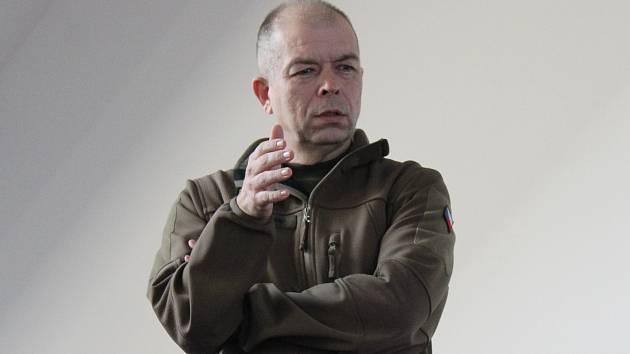 Plukovník Eduard Stehlík.