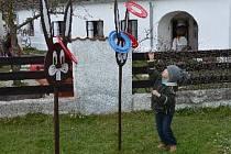 Velikonoční Pohádková kovárna v Selibově.