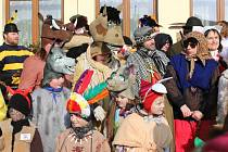 Třicáté výročí masopustu ve Skalách.