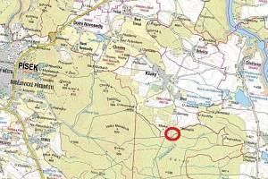Mapa lokality.