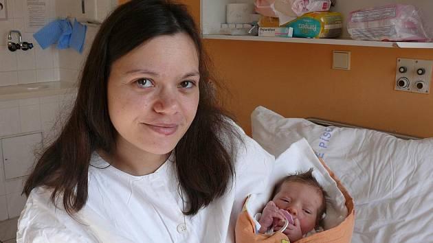 Wendy Matušová, Písek, 23. 2. 2011 v 03.05 hodin, 2900 g, 48 cm.