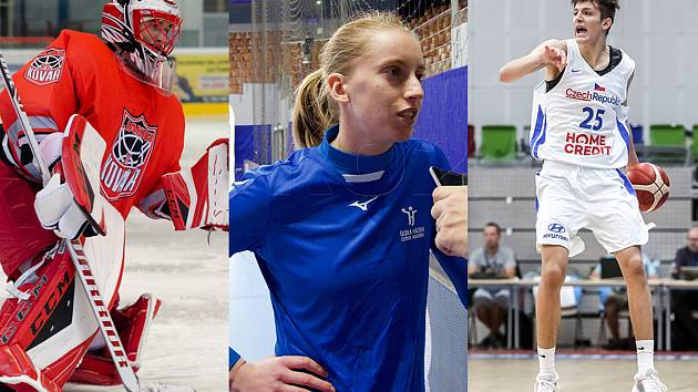 Zleva: Jakub Kovář, Veronika Malá, Vít Krejčí.