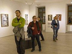 V Českých Budějovicích se prezentují tři písečtí výtvarníci.