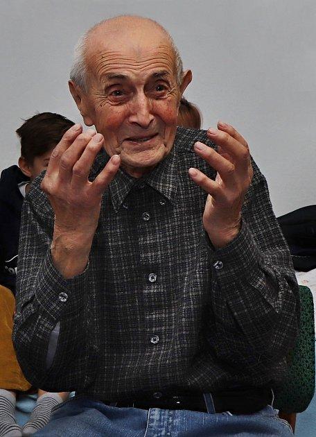 Karel Špala zBoješic uMirovic slaví 99.narozeniny.