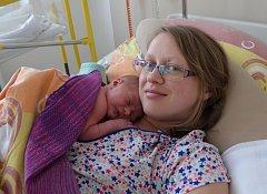 Matěj Krajčo zRadomyšle. Eva a Martin Krajčovi se těší ze syna narozeného 25. 4. 2018 v6.53 hodin. Při porodu vážil 3150 g a měřil 50 cm. Doma ho čekala sestřička Eliška (1,5).