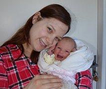 Viktorie Šeri z Blatné. Prvorozená dcera Martiny Bláhové a Miroslava Šeriho se narodila 12. 2. 2018 ve 12.05 hodin, vážila 2900 g a měřila 50 cm.
