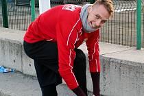 TRÉNINK. František Němec se chystá na jeden z tréninků  v zimní přípravě.