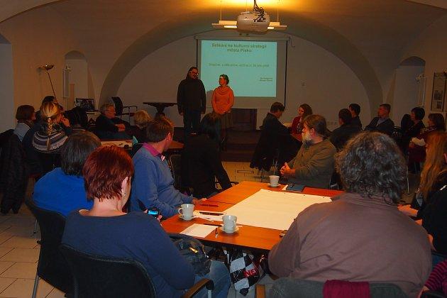 Beseda na téma kulturní strategie v Prácheňském muzeu v Písku. Ilustrační foto.