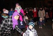Slavnostní zahájení adventu v Milevsku.