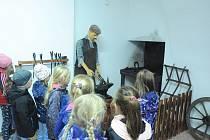 Akce v Domu regionů a dětských folklorních tradic v Kovářově.