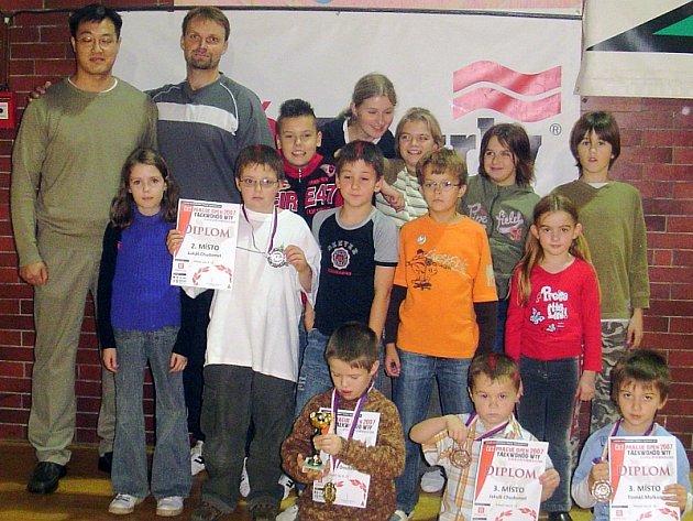 Taekwondisté Protivína dosáhli na mezinárodním závodě Prague Open 2007 výborných výsledků.