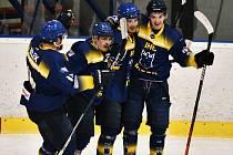 Hokejisté IHC zvítězili nad Klatovy 8:4. Ilustrační foto.