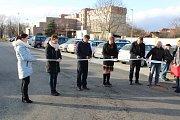 Otevření rekonstruovaného parkoviště na Výstavišti v Písku.