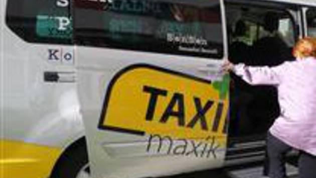 Taxík Maxík. Ilustrační foto.