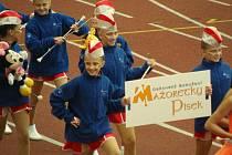 Písecké mažoretky na Mistrovství Evropy 2010.