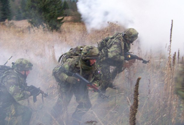Airsoftoví bojovníci. Ilustrační snímek