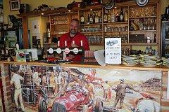 Restaurace Na Rozhledně v Písku.
