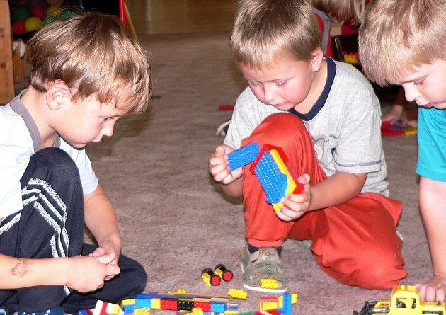 Kapacita většiny mateřských škol v Písku je již naplněná.