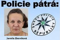Pohřešovaní Jarmila Zborníková.