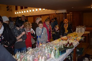 Vánoční trh v milevském domě kultury