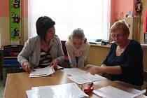 Zápisy se ve 13 školkách v Písku konaly ve čtvrtek a v pátek 24. a 25. dubna 2014.