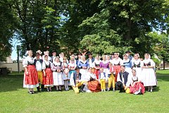 Folklorní festival v Kovářově.