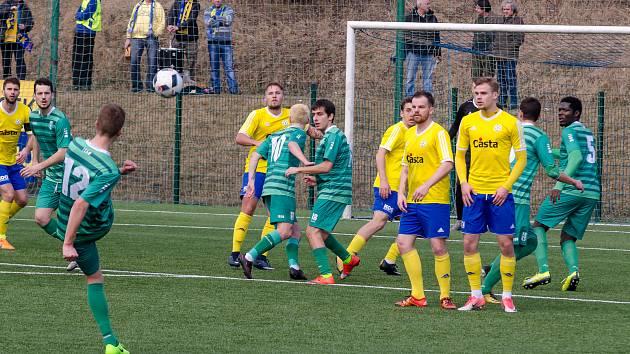 FC Písek - FK Loko Vltavín 3:2 pen. (1:1) - Pen.: 4:2