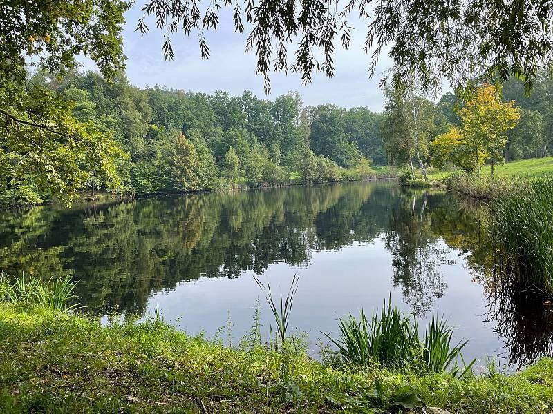 Čtveřice rybníků v lokalitě U Vodáka prošla obnovou, přibyly nové lavičky a informační tabule.