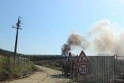 Ve Smrkovicích dnes ráno hořelo.