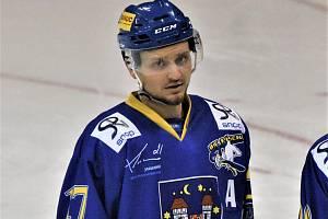 Kanonýr Písku Jan Sýbek patří ve druhé lize k nejproduktivnějším hokejistům soutěže.