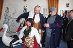 Slavnostní otevření nového Muzea milevských maškar.