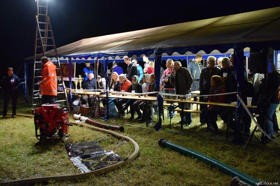 Noční soutěž SDH v Bojenicích.