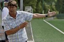 Trenér Rostislav Grossmann (na snímku) úspěšně vedl fotbalové starší dorostence FC Písek U19 v České lize dorostu této věkové kategorie.