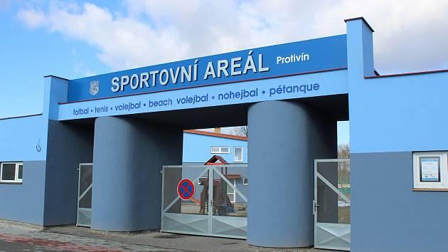Sportovní areál v Protivíně. Ilustrační foto