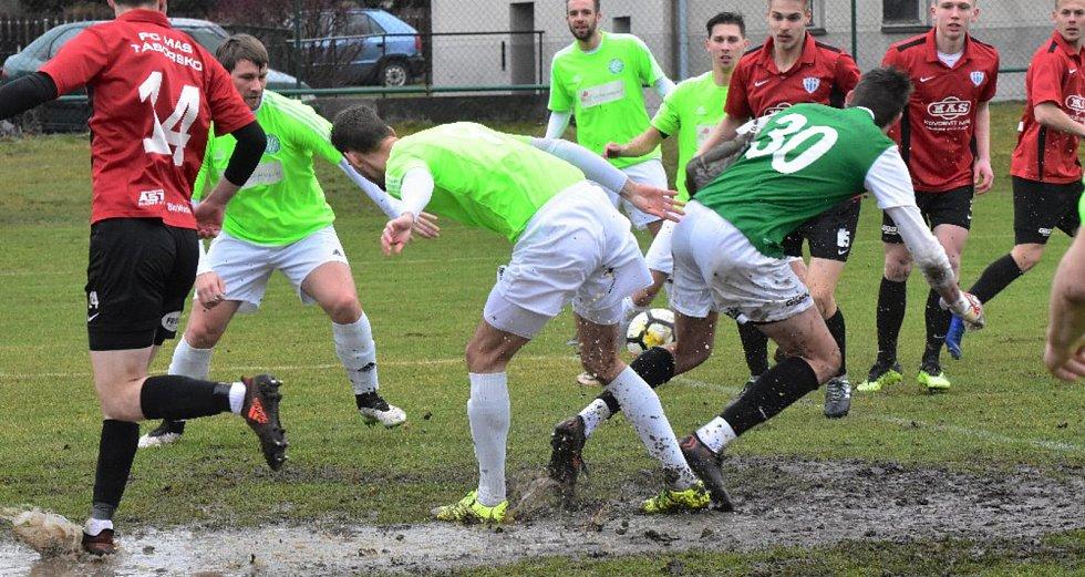 Fotbalisté Čížové porazili v divizi béčko Táborska 5:1.