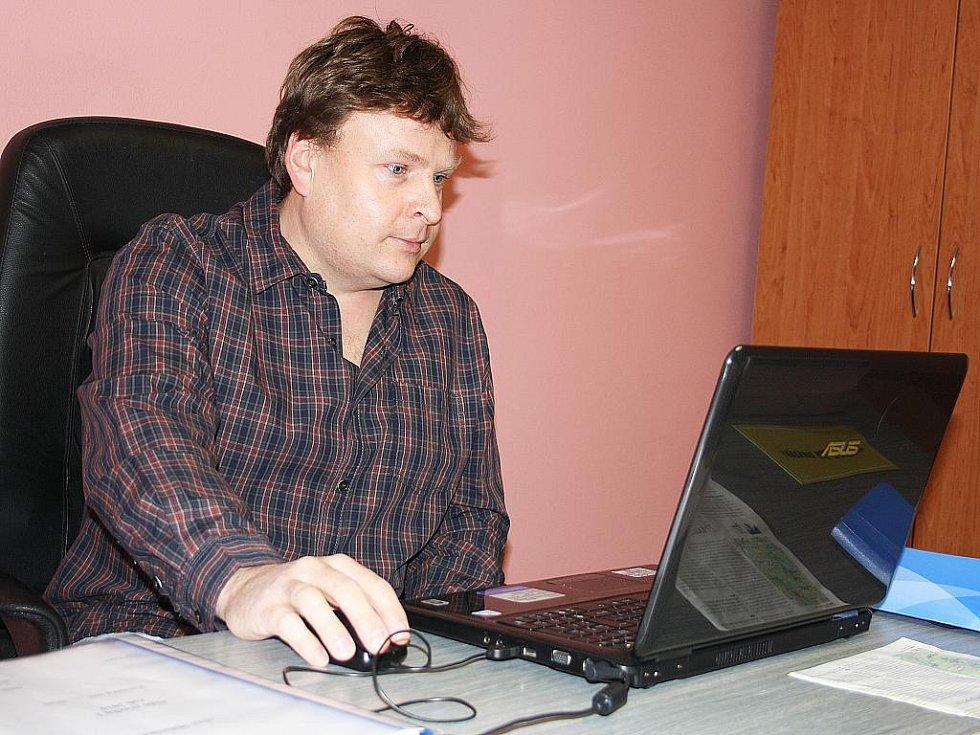 Starosta Mišovic Vladimír Čelakovský.
