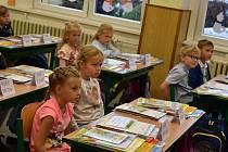 První školní den. Ilustrační foto.