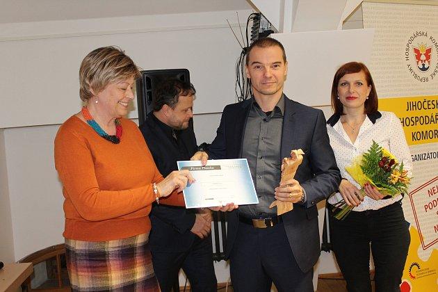 Vyhlášení výsledků soutěže Živnostník roku a Firma Písecka.