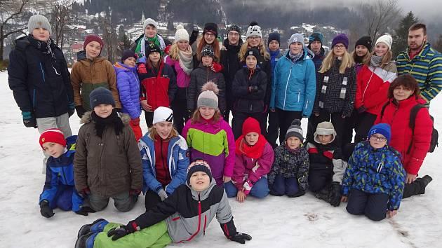 Děti z píseckého Diacelu měly zimní tábor.