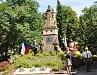 Pomník Jana Žižky a legionářů na Mírovém náměstí v Písku.