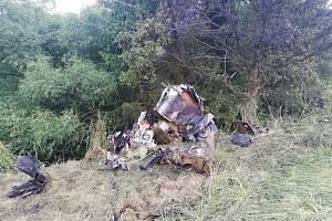 U Jickovic na Písecku spadlo v neděli 20. června letadlo T - 28 Trojan, které mířilo z leteckých ukázek v Polsku do Rakouska. Jeden muž při pádu zemřel, druhý byl těžce zraněný a záchranáři ho transportovali do nemocnice v Praze.