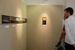 Výstava obrazů Pavla Kocha v Malé galerii Sladovny.