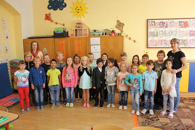 1. třída ze ZŠ Mirovice.