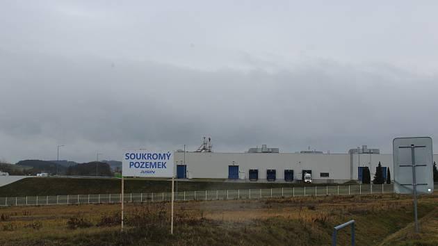 Průmyslová zóna v Písku. Ilustrační foto.