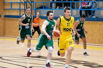 Sršni Sokol Písek – Basket Košíře 97:68 (24:18, 32:15, 23:20, 18:15).