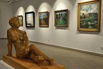 Výstava Slavnost malby v Prácheňském muzeu v Písku.