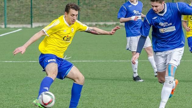 Písečtí třetiligoví fotbalisté prohráli v Benešově