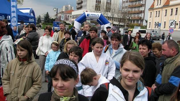 Tak to vypadalo na Dnu s Deníkem v Písku - 16.4.2008 -  U Kamenného mostu. (ilustrační foto)