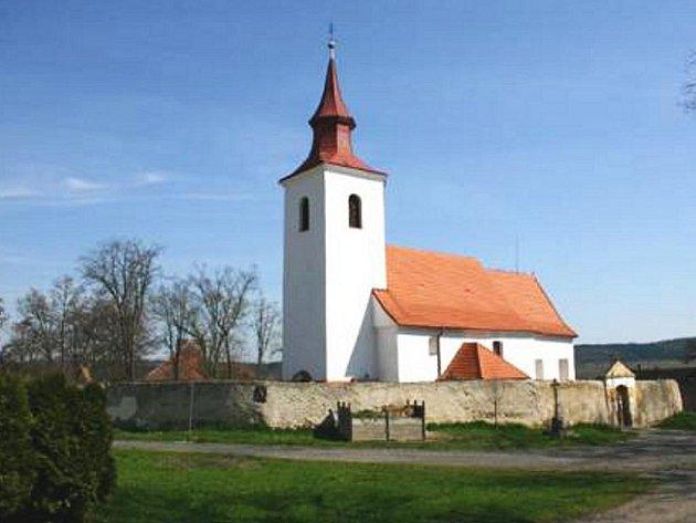 Heřmaň, obec, kde se narodil básník Jan Čarek.